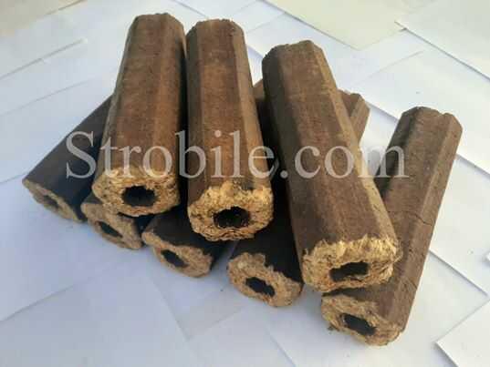 Ξύλινες μπρικέτες Pini Kay – πακέτο 10 κιλών