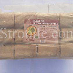 μπρικέτες Ruf - πρώτη ύλη είναι μίγμα ερυθρελάτης και οξιάς